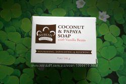 Продам натуральное мыло с кокосом и папайей, производство США 141 г