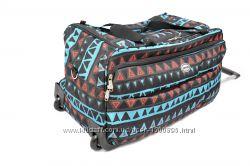 Акция. Дорожная чемодан-сумка на колесах Foxy-line. Acteka.