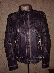 Демисезонная кожаная куртка AMN Amnesia