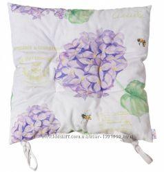 Подушка на стульчик Лиловая гортензия