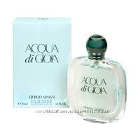Armani Acqua di Gioia парфюмированная вода, оригинал