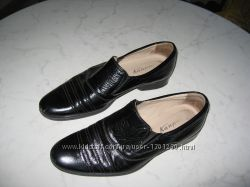 Кожаные туфли для мальчика Каприз, р. 35