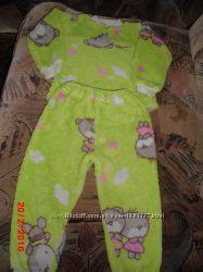 Теплая пижама в хорошем состоянии