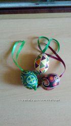 пасхальные яйца ручной работы