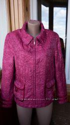 Красивая куртка с вышивкой, эксклюзив, 42 xl, 44 xxl, Испания