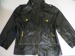 курточка весенне-осенняя с рукавом три четверти на молнии