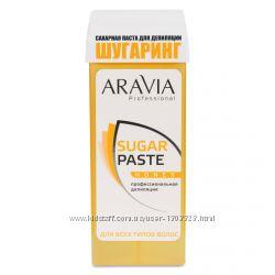 Сахарная паста ARAVIA Professional для депиляции в картридже Медовая, 150