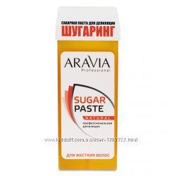 Сахарная паста для депиляции в картридже Натуральная ARAVIA Professional