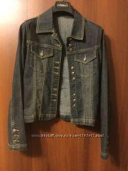 Джинсовая курточка Wild West jeans размер S 100 cotton размер 3642