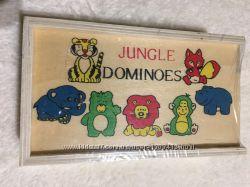 Деревянная игрушка Домино Новая в упаковке