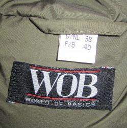 Пуховик WoB новый пальто