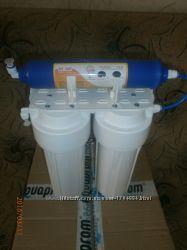 Фильтр очистки воды 3 стадии, Фильтр бактерицидный с йодированой смолой