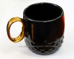 Керамическая чашка Starbucks Gold
