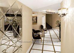 Cтеклянные конструкции и зеркальные пано любой сложности