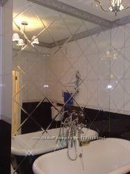 Зеркальная плитка, зеркальное пано