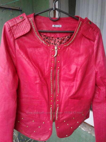 Куртка натуральная кожа KorKor Италия
