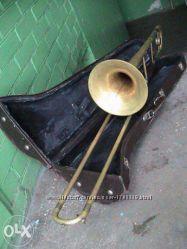 Тромбон MADE IN GDR Германия. Киев. Вишнёвое.