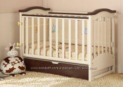 Кроватка для новорожденных из натурального дерева Prestige 2