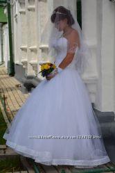 Очень красивое свадебное платья