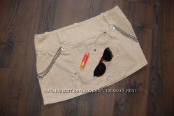 Джинсовая юбка guess 29 размер