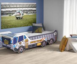 Кровать детская с матрасом и регулируемой длиной