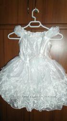 Платье пышное и подарок