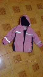 Куртка-ветровка прорезиненный верх утепленная