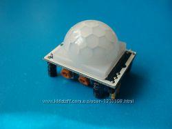 Инфракрасный датчик движения SR501 HC-SR501 IR Pyroelectric Infrared PIR