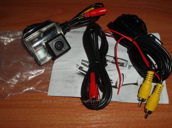 Камера заднего вида Mazda 6 белый пластик CX5, CX7, CX9 CCD Sony Mazda