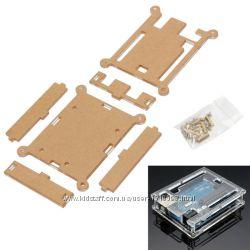 Корпус акриловый для Arduino UNO R3 прозрачный DIP LEONARDO SMD