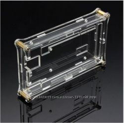 Корпус акриловый для Arduino Mega 2560 прозрачный  комплект крепеж оклейка