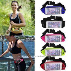 Чехол для телефона на пояс для занятия спортом.