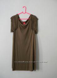 сукня-туніка з погонами