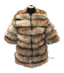 Куртка из лисы. Все размеры.