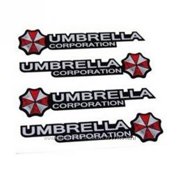 Наклейка Umbrella corporation 4шт.