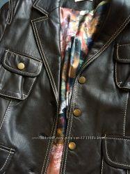 Кожаный пиджак оригинал