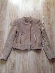Замшевая куртка Манго, состояние новой вещи