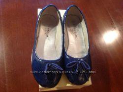 Туфельки - балетки лакированные для девочки Италия