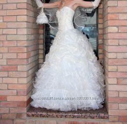Свадебное платье Очень нежное и красивое 44-46-48