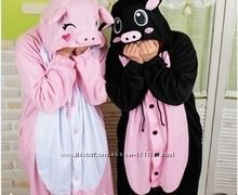Кигуруми- или маскарадный костюм, пижама Свинья, Пяточёк