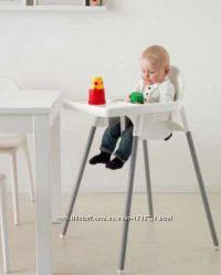 Высокий стульчик для младенцев Икеа