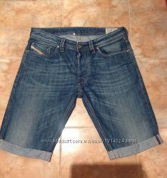 Мужские джинсовые шорты Diesel