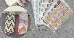 Алмазные 3D наклейки, для искусства ногтей