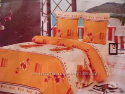 Бязевый комплект постельного белья, произв Украина