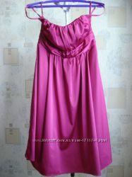 Женское нарядное вечернее летнее платье - бюстье. MEXX. Размер 12. 40-