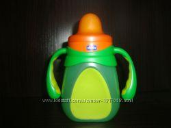 Первая Чашка-непроливайка Chicco Drinky