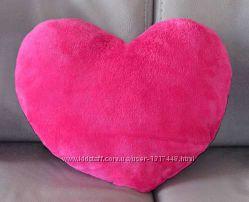 Новинка 2016 Подушка Сердце розовая