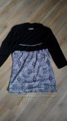 Фирменная блузка-болеро 2в1