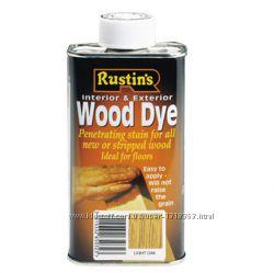 Краситель для древесины WOOD DYE Rustins