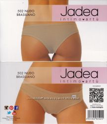 Трусы-бразилиана  Jadea 502, черные, беж, белые, цветные